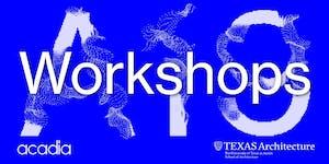 ACADIA 2019 Workshops