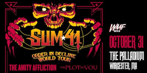 ORDER IN DECLINE TOUR - SUM 41