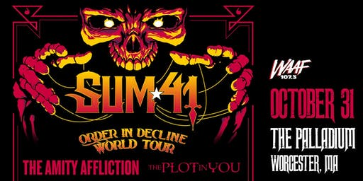 ORDER IN DECLINE TOUR - SUM 41