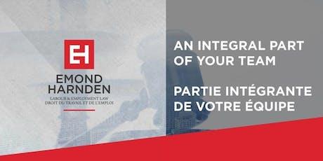 The Path to Pay Equity I Négocier le virage vers l'équité salariale billets