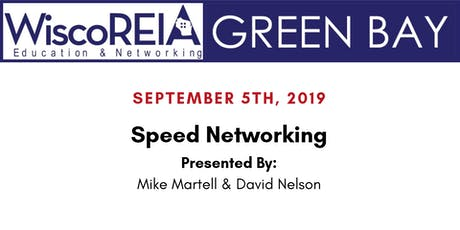 WiscoREIA's Green Bay Meeting - September 2019!  tickets
