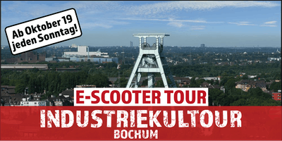 "E-Scooter Tour: ""Industriekultour"" Bochum"