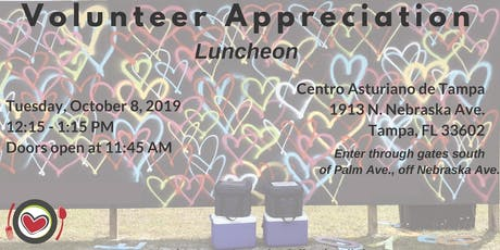 Meals On Wheels of Tampa's 2019 Volunteer Appreciation Luncheon tickets