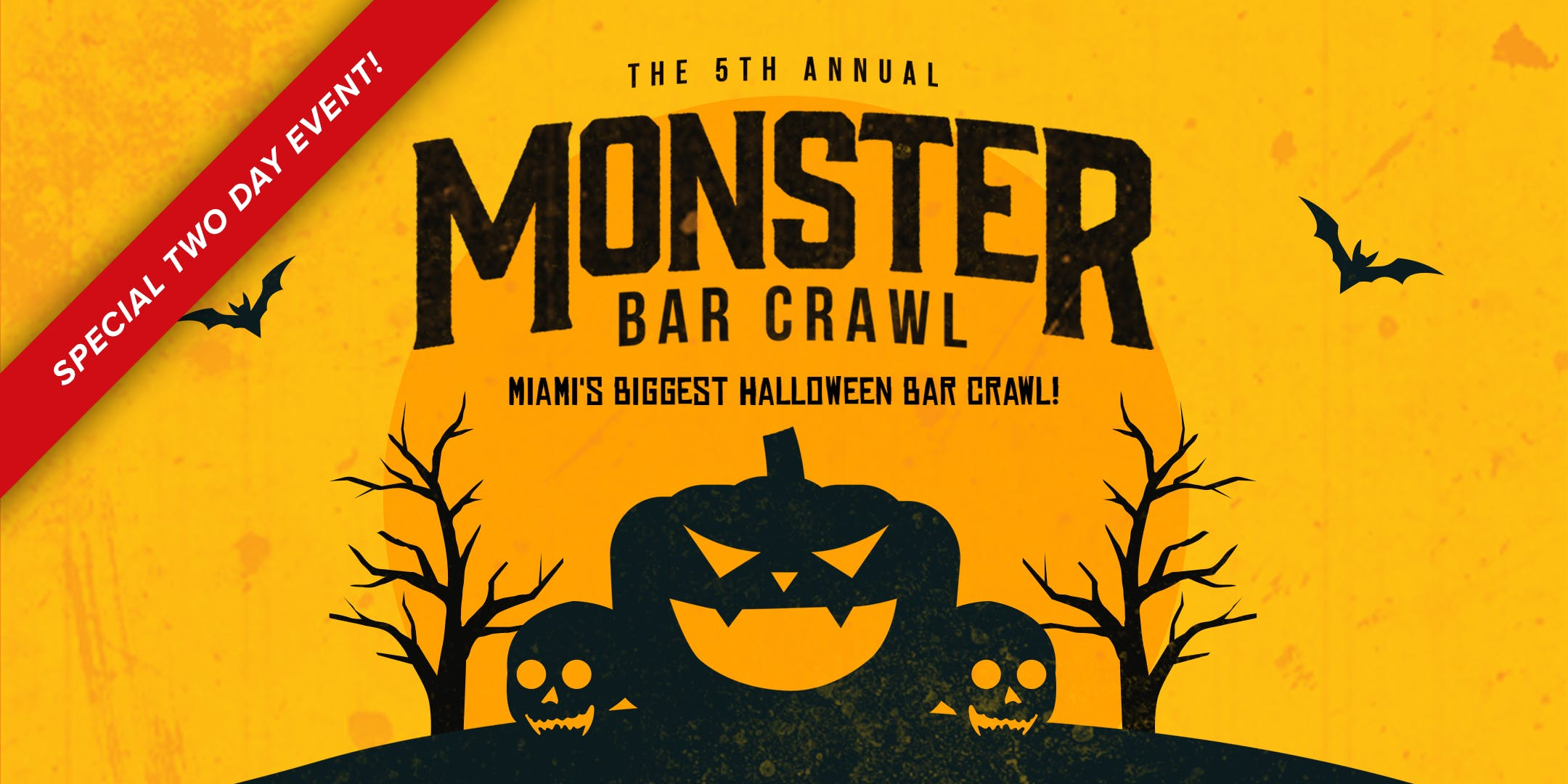 Halloween October 31st 2020 Miami Bar Crawl 5th Annual Monster Bar Crawl in Miami (Thursday, October 31st