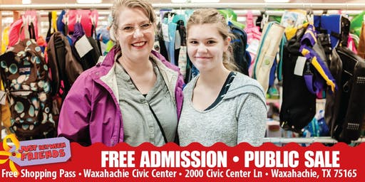 JBF Waxahachie/Mansfield: PUBLIC Fall/Winter SALE- FREE ADMISSION TICKET