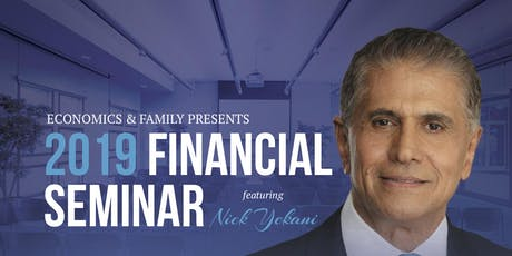 2019 TaxSmart Financial Seminar - Ft. Nick Yekani  tickets