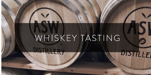 Whiskey Tasting w/ ASW Distillery