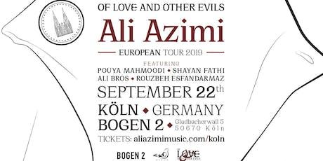Ali Azimi Live in Köln  Tickets