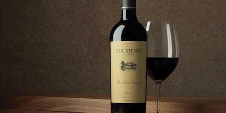 Celebrating Duckhorn Portfolio & Wine Spectator #1 Wine of the Year tickets