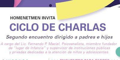 CICLO DE CHARLAS, ENCUENTRO PARA ADOLESCENTES