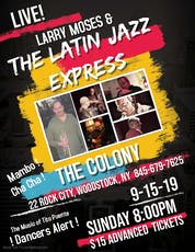 Larry Moses & The Latin Jazz Express tickets