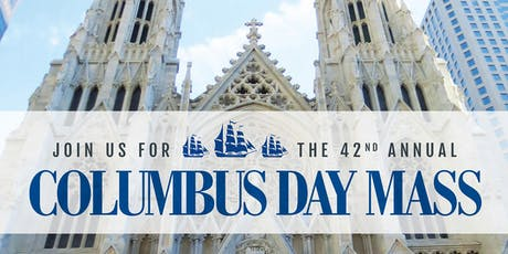 Columbus Day Mass  tickets