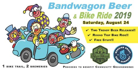 Bandwagon Beer & Bike Ride 2019 tickets