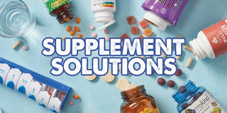 Supplement Solutions tickets