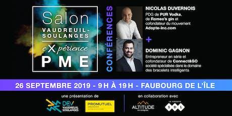 Salon eXpérience PME 2019 billets