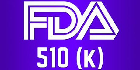 U.S. FDA's 510(k), IDE, PMA Documentation, Submission and Approval Process tickets