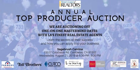 Annual Top Producer Auction tickets