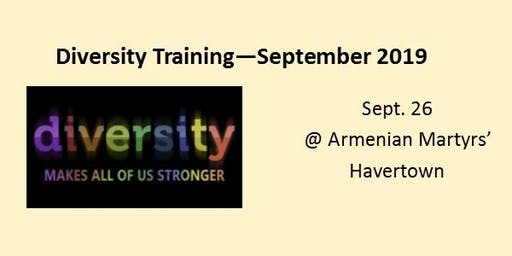 Diversity Training September 2019