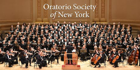Oratorio Society of New York '19-20 Season 2-Ticket Subscription Dec/Mar tickets