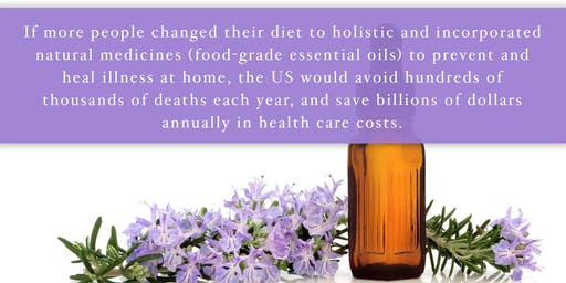 Natural Health & Essential Oils Class
