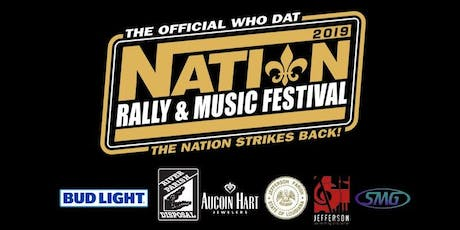 The Official Who Dat Nation Rally & Music Festival - TWO-DAY ADULT tickets