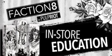 Pulp Riot Faction8 Advanced Edu AM class in Salina, KS tickets