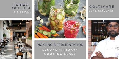 Cooking Class: Pickling & Fermentation