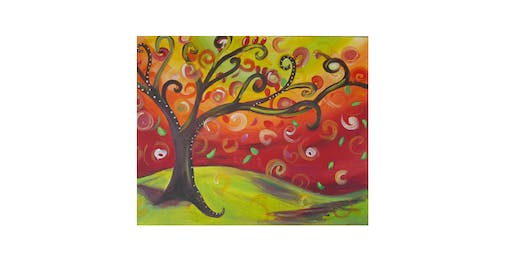 Whimsical Fall Tree | $25