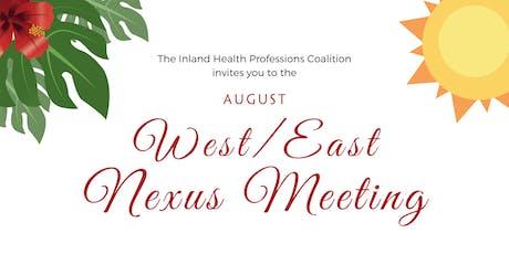 West/East Nexus Meeting tickets