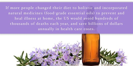 Natural Health & Essential Oils Class