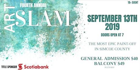 Art Slam tickets