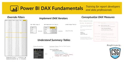 Power BI DAX Fundamentals - Portland, OR