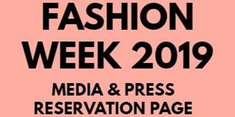 Media & Buyer's RSVP - Super Chic Tampa Fashion Week 2019 tickets