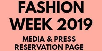 Media & Buyer's RSVP - Super Chic Tampa Fashion Week 2019