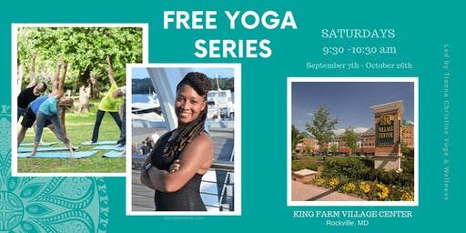 Free Yoga Series at King Farm Village Center
