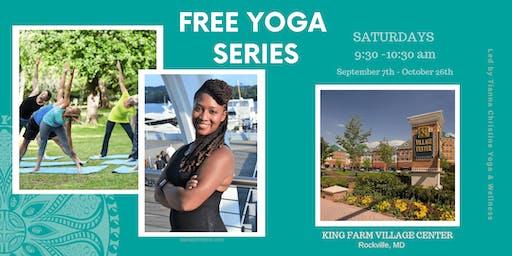 Free Yoga Series at King Farm Village Center
