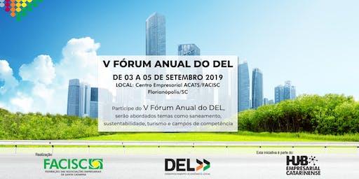 V FÓRUM DO DEL - DESENVOLVIMENTO ECONÔMICO LOCAL