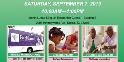 Healthy Wealthy Wise Community Fair