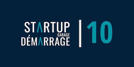Rallye du Garage démarrage | Startup Garage Rally tickets