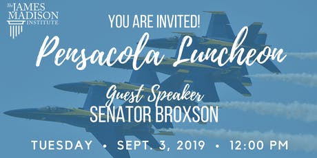 2019 JMI Northwest Regional Luncheon with Senator Broxson tickets