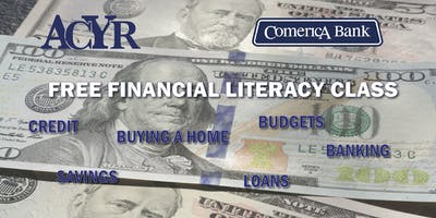 November Free Financial Literacy Workshop with Comerica Bank