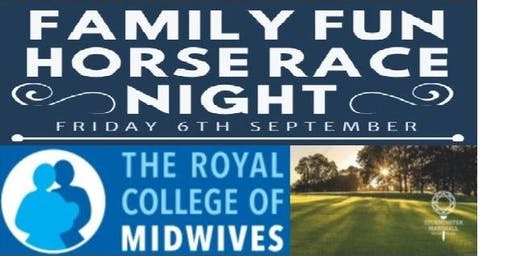 Family Fun Horse Race Night