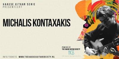 Gitaar Concert van meester-gitarist Michalis Kontaxakis uit Griekenland