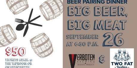 Big Beer, Big Meat Beer Pairing Dinner tickets