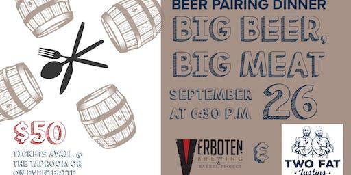 Big Beer, Big Meat Beer Pairing Dinner