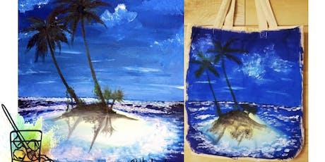 Tropical Tote Bag Paint N Sip tickets