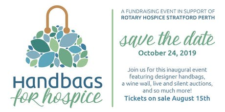 Handbags for Hospice tickets