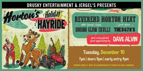 Reverend Horton Heat's Holiday Hayride tickets