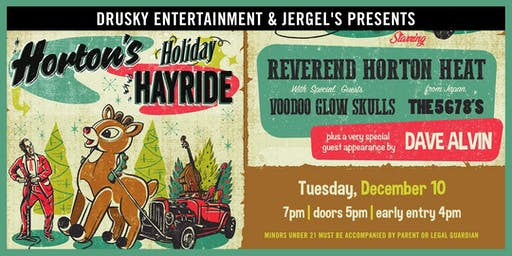Reverend Horton Heat's Holiday Hayride