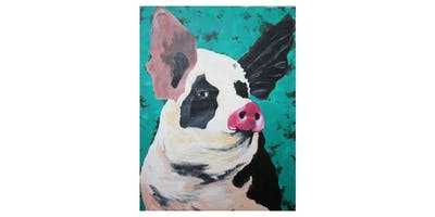 Turquoise Pig   $25